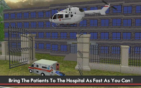 Ambulance & Helicopter SIM 2 screenshot 3