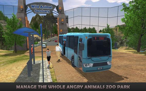 Angry Animals Zoo Park SIM 17 poster