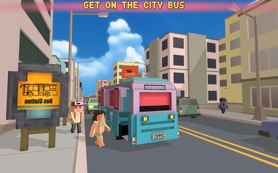 Bus Simulator City Craft 2016 poster