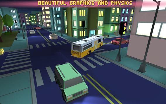 Bus Simulator City Craft 2016 apk screenshot