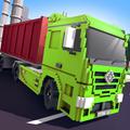 Blocky Truck Simulator