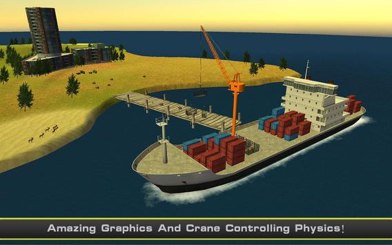 Cargo Ship Manual Crane 2 screenshot 3