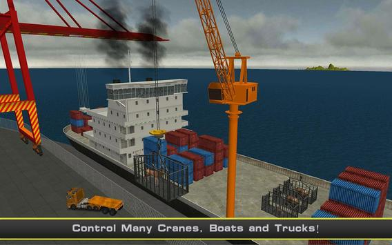 Cargo Ship Manual Crane 2 screenshot 6