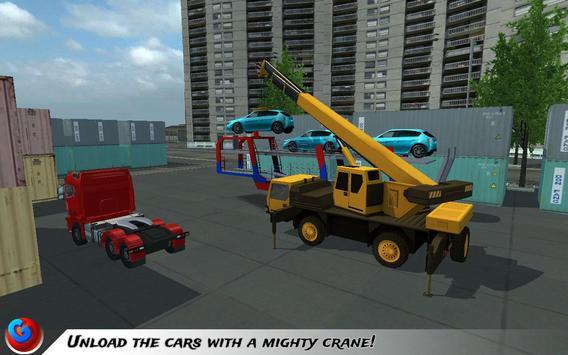 Car Transport Plane Pilot SIM screenshot 14