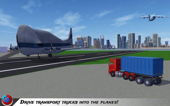 Car Transport Plane Pilot SIM screenshot 19