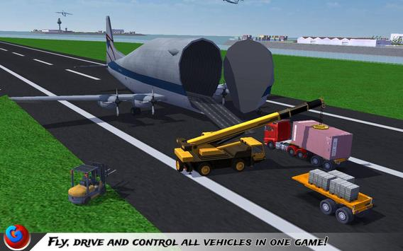 Car Transport Plane Pilot SIM screenshot 4