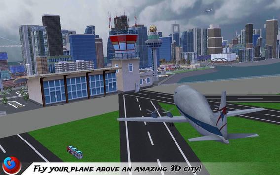 Car Transport Plane Pilot SIM screenshot 6