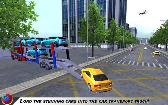 Car Transport Plane Pilot SIM screenshot 9