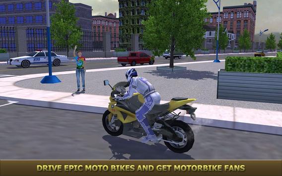 Furious City Moto Bike Racer 3 poster
