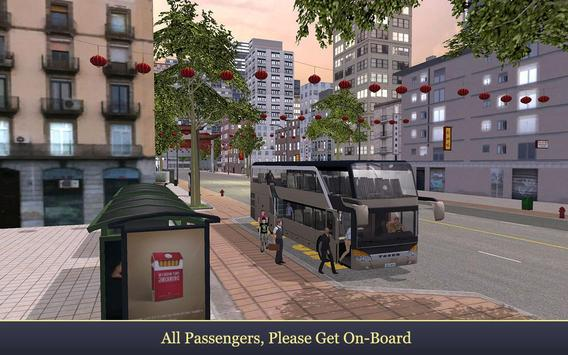 Fantastic City Bus Parker SIM poster