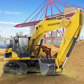 Heavy Excavator & Truck SIM 17 icon
