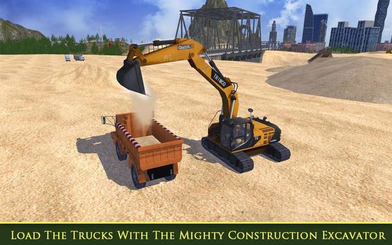 Heavy Excavator & Truck SIM 17 poster