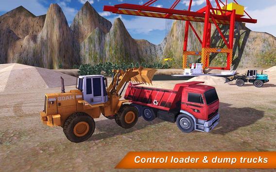 Loader & Dump Truck Hill SIM 2 poster