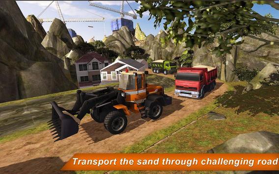 Loader & Dump Truck Hill SIM 2 apk screenshot