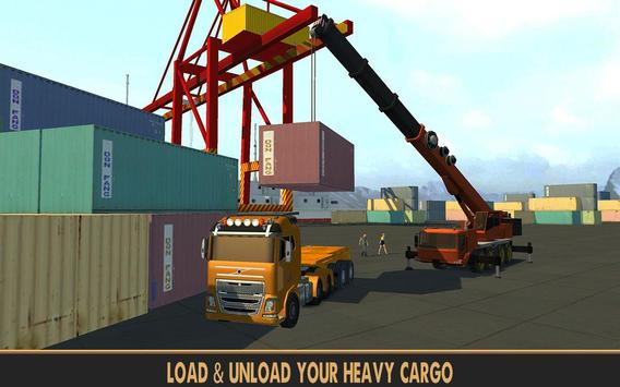 Practise Crane & Labor Truck poster