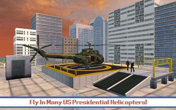 Presidential Helicopter SIM poster