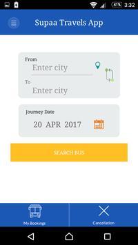 Supaa Travels screenshot 2