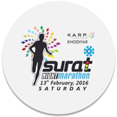 Surat Night Marathon. icon