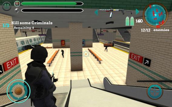 SWAT Cop Terrorist Syndicate 2 apk screenshot
