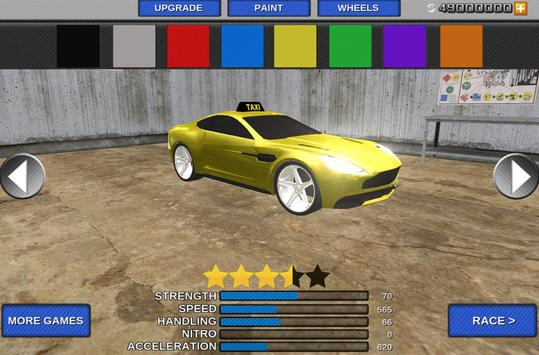 Taxi Driver 3D Simulator Game screenshot 1