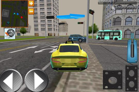 Taxi Driver 3D Simulator Game screenshot 4