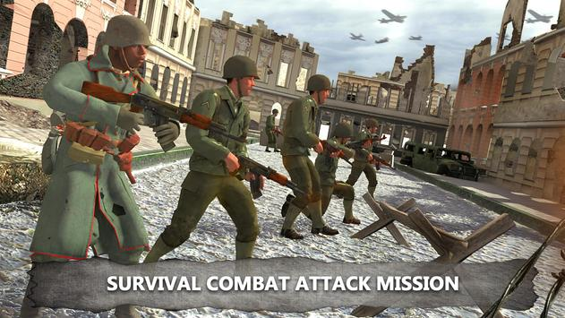 World War Shooting Survival Combat Attack Mission poster