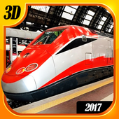 Bullet Train Simulator 2017 3D icon