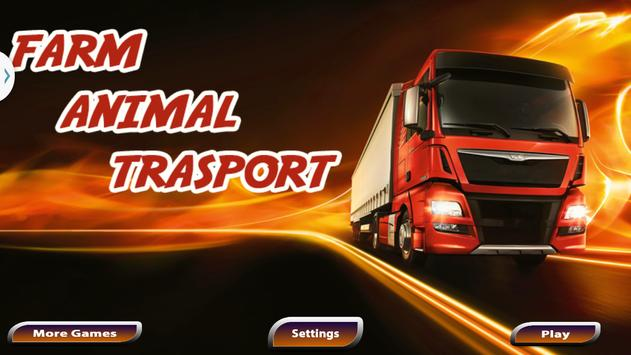 Farm Animal Transporter Truck poster