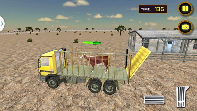 Farm Animal Transporter Truck apk screenshot