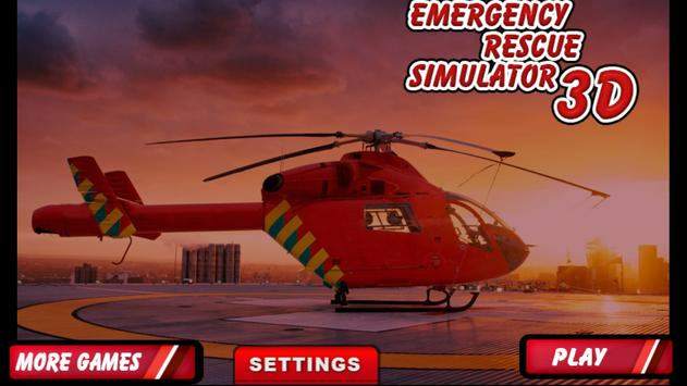 Emergency Rescue Simulator 3D poster