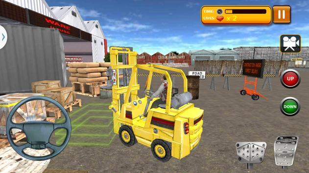 Forklift Simulator 3D 2017 apk screenshot