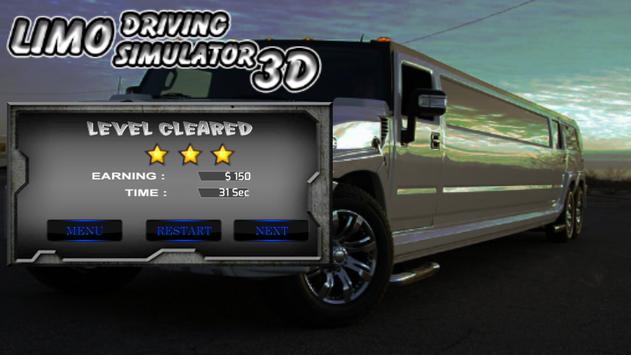 Limo Driving Simulator 3D 2017 poster