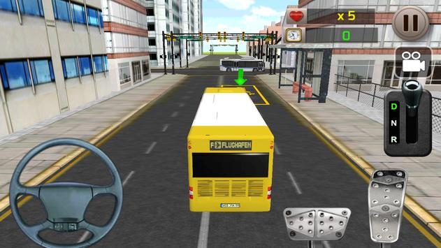 Real Bus Driving Simulator 3D apk screenshot