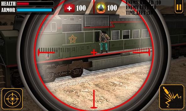 Train Attack 3D poster