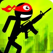 Call of Stickman :Trigger Down icon