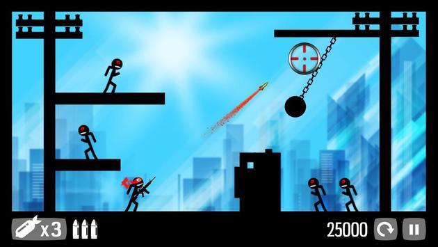 Call of Stickman :Trigger Down screenshot 12