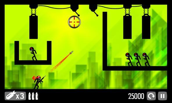 Call of Stickman :Trigger Down screenshot 2