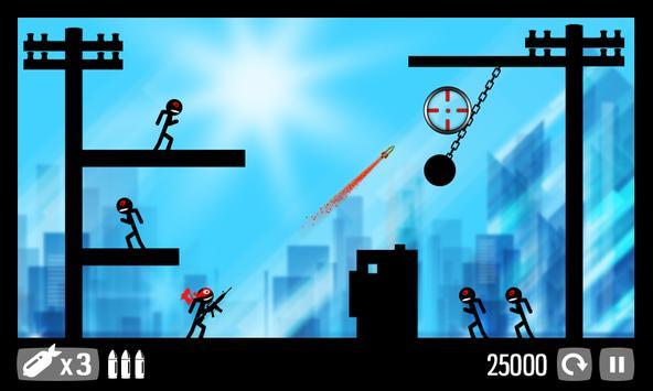 Call of Stickman :Trigger Down screenshot 3
