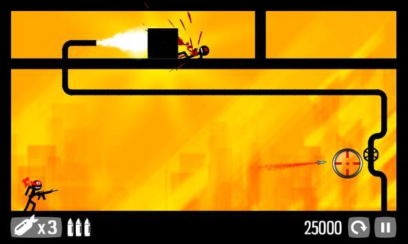 Call of Stickman :Trigger Down screenshot 4