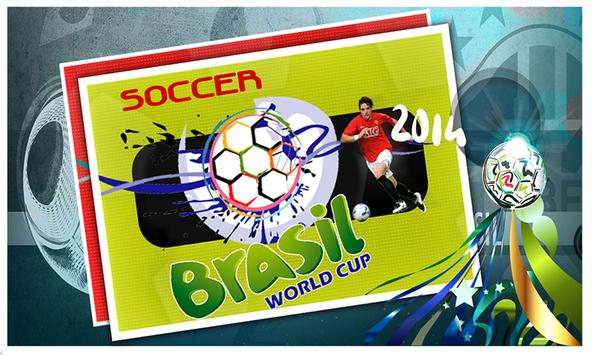 World Cup 2014 Soccer Manager poster
