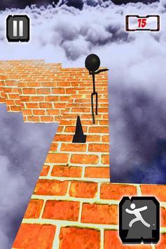 Stickman ZigZag Rush Run 3D poster