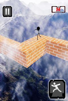 Stickman ZigZag Rush Run 3D screenshot 4