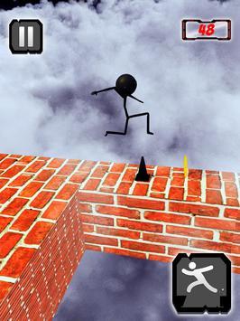 Stickman ZigZag Rush Run 3D screenshot 7