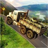 infantry transport trailer 3d icon