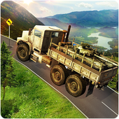 Infantry Transport Trucker 3D- Offroad Military icon