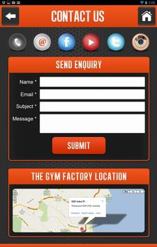 The Gym Factory poster