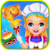 Cook Sweet Cookies for Girls icon