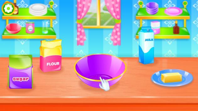 Cook Sweet Cookies for Girls screenshot 1
