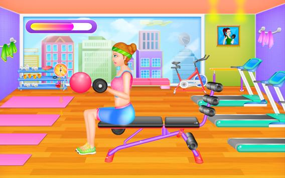 Fit Girl - Workout & Dress Up poster