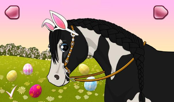 🐎 Horse Care - Mane Braiding screenshot 1